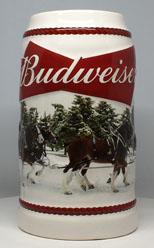 2016 - Budweiser Christmas Steins