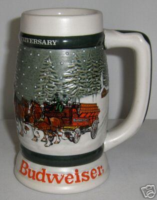 1982rightebayjpg 22379 bytes - Budweiser Christmas Steins